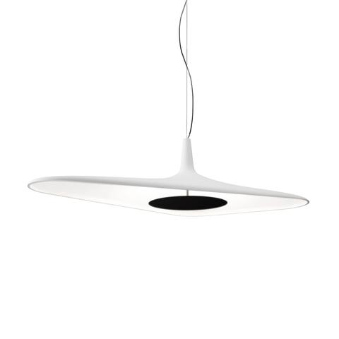 Подвесной светильник копия Soleil Noir by Luceplan (белый)