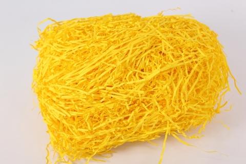 Наполнитель бумажный 100г желтый лимонный (упак.)