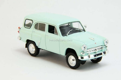 Moskvich-411 light green 1:43 DeAgostini Auto Legends USSR #209