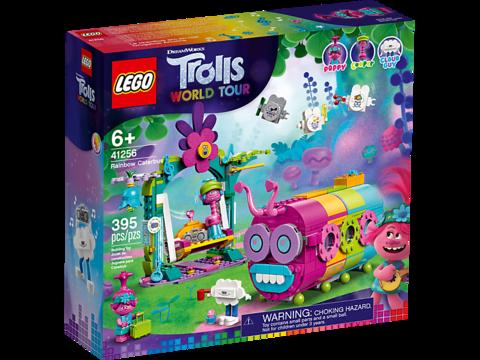 LEGO Trolls: Радужный автобус троллей 41256 — Rainbow Caterbus — Лего Троллз Тролли