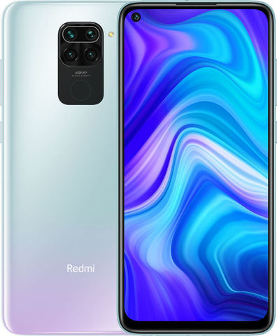 Смартфон Xiaomi Redmi Note 9 4/128Gb NFC White (Белый) Global Version