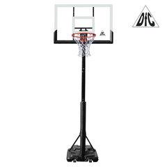 Баскетбольная мобильная стойка DFC STAND56P 143x80cm поликарбонат (два короба)
