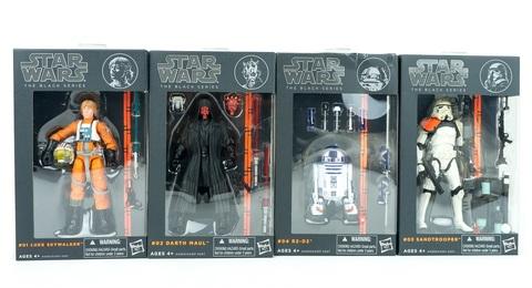 Звездные войны фигурка 15 см Black 2013 Series 01 упаковка