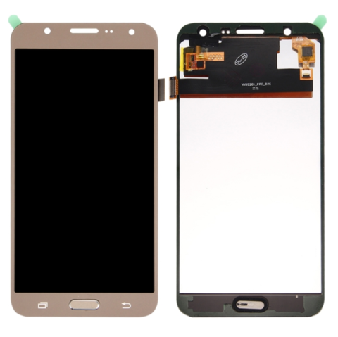 LCD SAMSUNG J7 J700 + Touch Gold (TFT Backlight Adjustment) MOQ:10