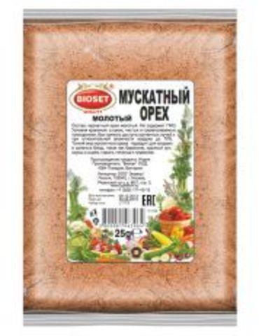 Мускатный орех ( молотый), 25 гр.