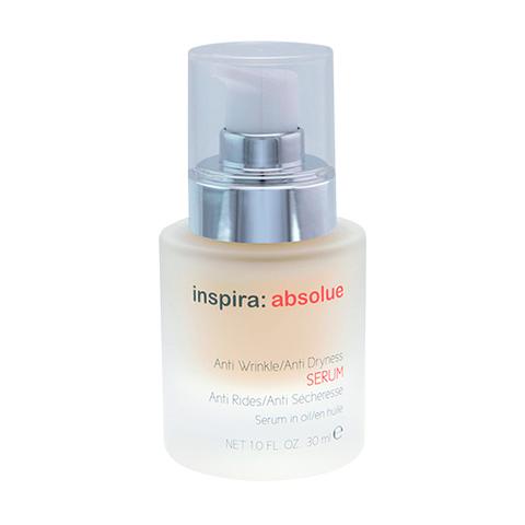 Сыворотка с липосомами против морщин для восстановления сухой и обезвоженной кожи  Anti Wrinkle Anti Dryness Serum, Inspira Absolue, 30 мл