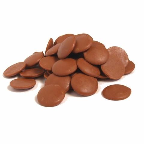 Глазурь шоколадная дропсы Молочная Белгостар,500гр