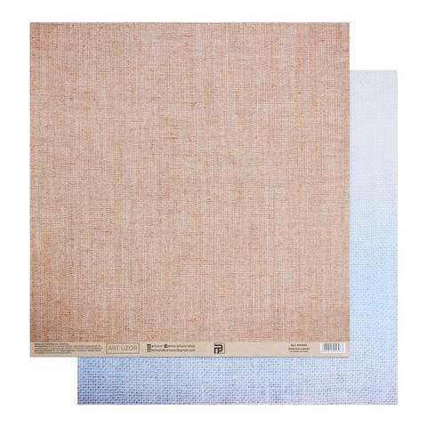 Бумага для скрапбукинга «Холща», 30.5 × 32 см, 190 гм