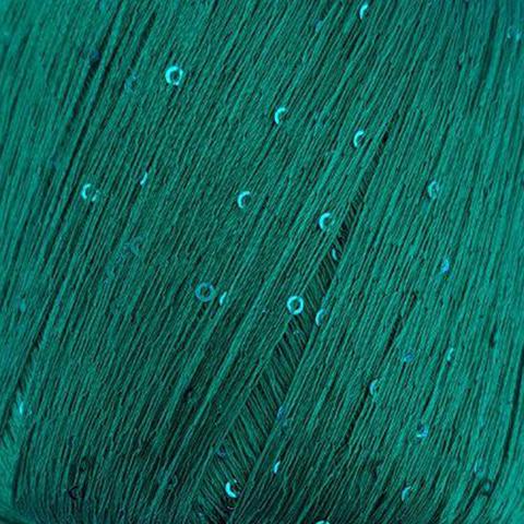 Пряжа Paillettes. Цвет: ярко-зеленый. Артикул: 8937