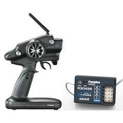Futaba 4PLS 4-CH T-FHSS Telemetry Radio System R304SB Receiver