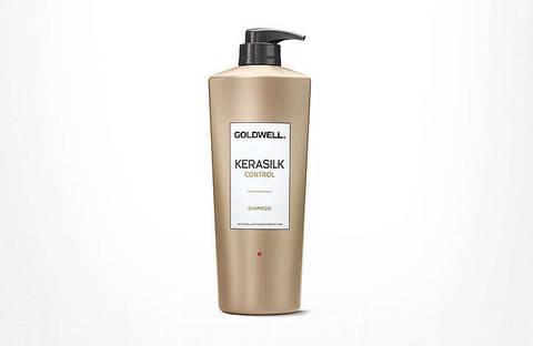 GOLDWELL KERASILK CONTROL шампунь 1л