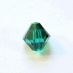 5328 Бусина - биконус Сваровски Emerald 8 мм