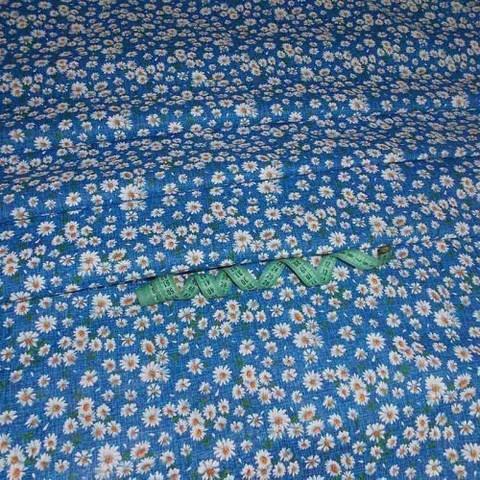 Бязь плательная 150 см 10462/3 цвет синий
