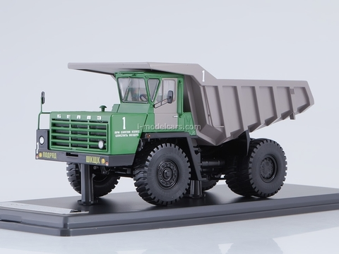 BELAZ-540A dumper green-gray 1:43 Start Scale Models (SSM)