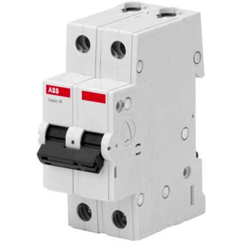 Автоматический выключатель 2-полюсный 50 A, тип C, 4,5 кА  BMS412C50. ABB. 2CDS642041R0504