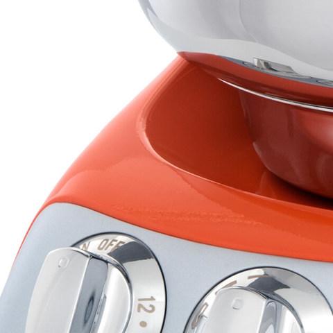 Тестомес для крутого теста-миксер Ankarsrum AKM6230 Pure Orange, фото