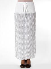 25294-8 юбка женская, черно-белая