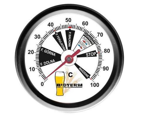 Термометр пивоваренный 0-100 °C