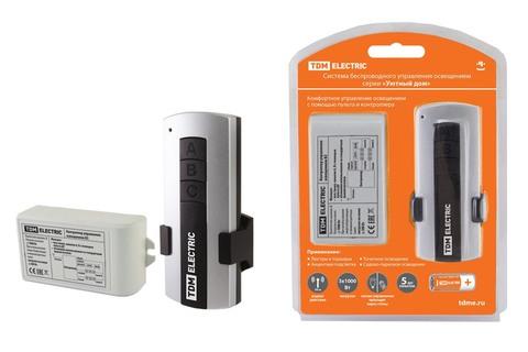 Комплект для беспроводного управления освещением ПУ1-МK-2 (2 канала)