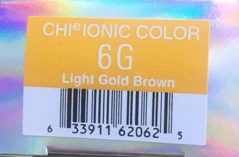 Крем-краска CHI Ионик 6 G 85 гр