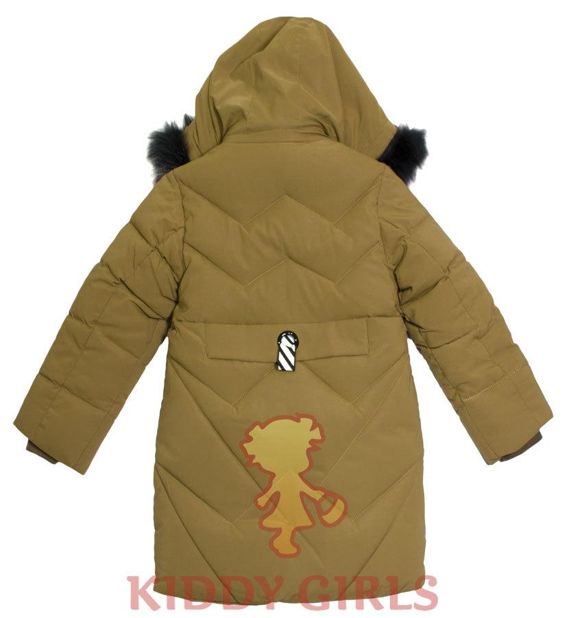 Удлиненная куртка Winter Khaki 810