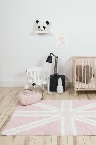 Ковер Lorena Canals UK Flag Baby Pink (120 х 160)