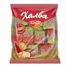 Конфеты Рот Фронт Халва в шоколаде 400 г