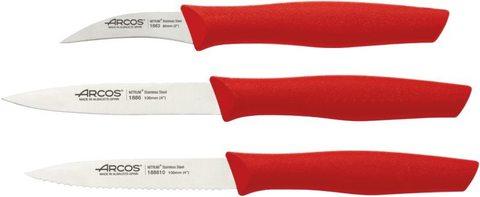 Набор из 3 ножей для чистки и нарезки овощей ARCOS Nova арт. 189622