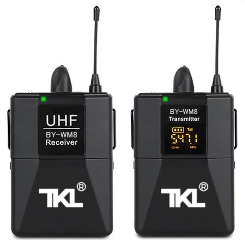 Универсальный Радио Петличный Микрофон TKL-01