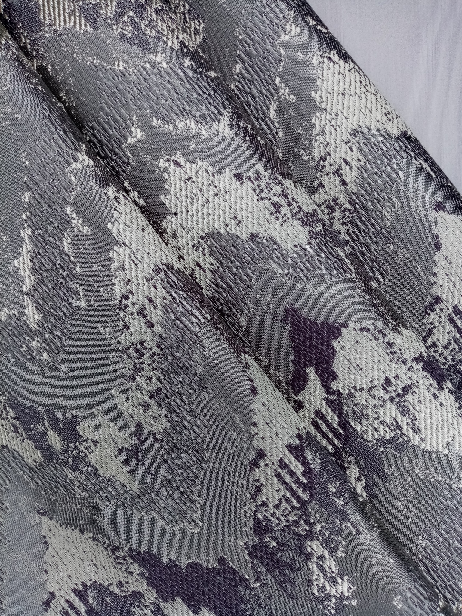 Ткань для портьер шеврон парча