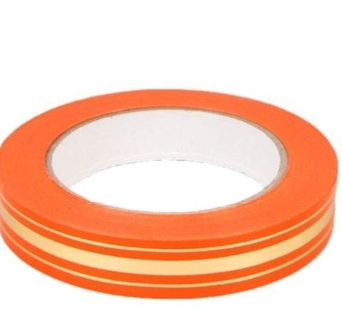 Лента золотая полоса Россия (размер: 2 см х 50 ярдов) Цвет: оранжевый