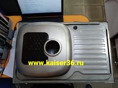 Кухонная мойка врезная из нержавеющей стали Kaiser KSS-7850