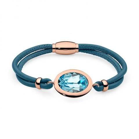 Браслет Tivola aquamarine 173707 BL/RG
