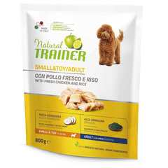 Сухой корм Trainer Natural Small and Toy with fresh chicken and rice