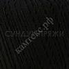 Пряжа Камтекс Денди (Мерсеризованный хлопок-100%) 003 (черный)