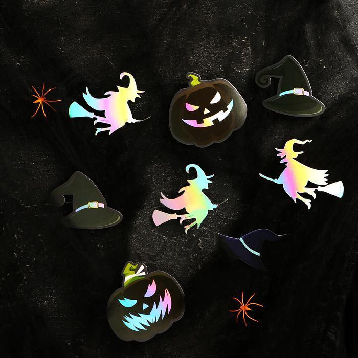 Карнавальный набор «Ведьмы и тыквы», паутина, декор фото № 2