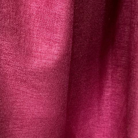 Блэкаут лен для штор бордовый. BLL-4