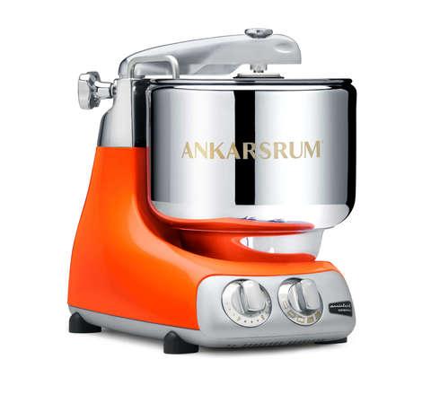 Ankarsrum Assistent Original AKM6230 PO Pure Orange с металлической чашей 7 л