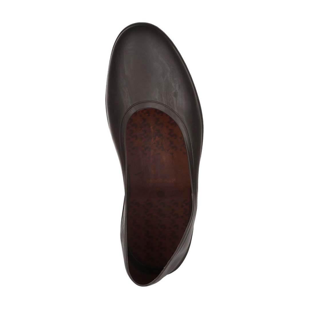 Мужские галоши Rain-shoes коричневые
