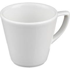 Чашка кофейная Башкирский фарфор Мокко белая 75 мл (артикул производителя ИЧФ 24.75)