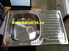 Кухонная мойка врезная из нержавеющей стали Kaiser KSS-7850 (2)
