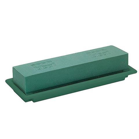 Оазис настольный Деко средний, 25х9 см, цвет: зеленый (в уп. 8 шт.)