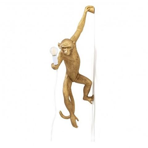 Настенный светильник светильник копия Monkey by Seletti (золотой)