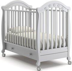 Кровать детская Джозеппе белая ночь