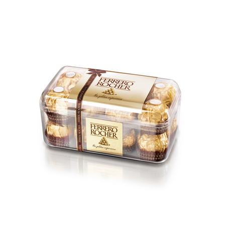 Шоколадные конфеты Ferrero Rocher с лесным орехом 200 г