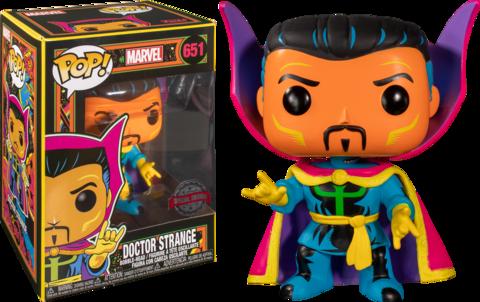 Doctor Strange Marvel: Black Light Special Edition Funko Pop!    Доктор Стрэндж (Б/У)