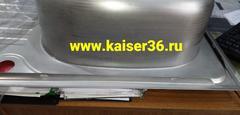 Кухонная мойка врезная из нержавеющей стали Kaiser KSS-7850 (3)