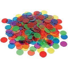 Фишки для счета Прозрачные круги (250 элементов) Learning Resources