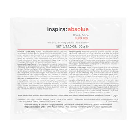 Энзимный скраб 2-В-1 DOUBLE ACTION Super Peel, INSPIRA Absolue, 30 гр
