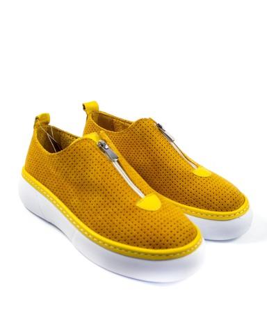 желтые кеды SM